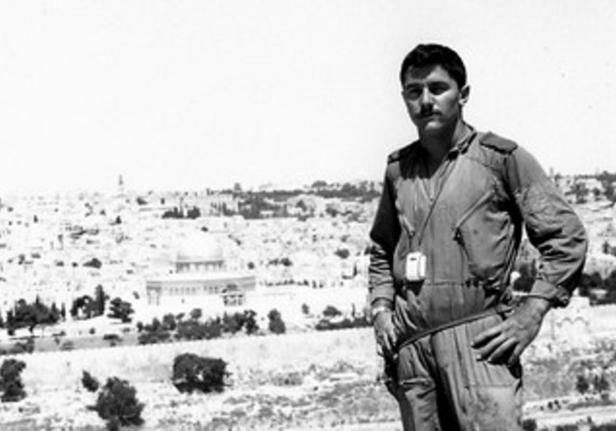 Yair Shamir as a soldier.