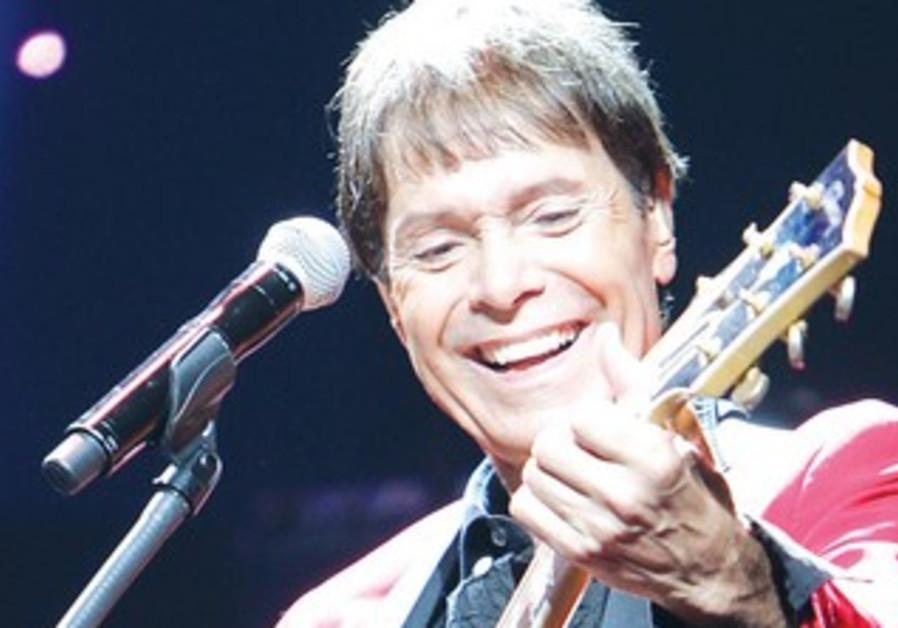 British singer Cliff Richard