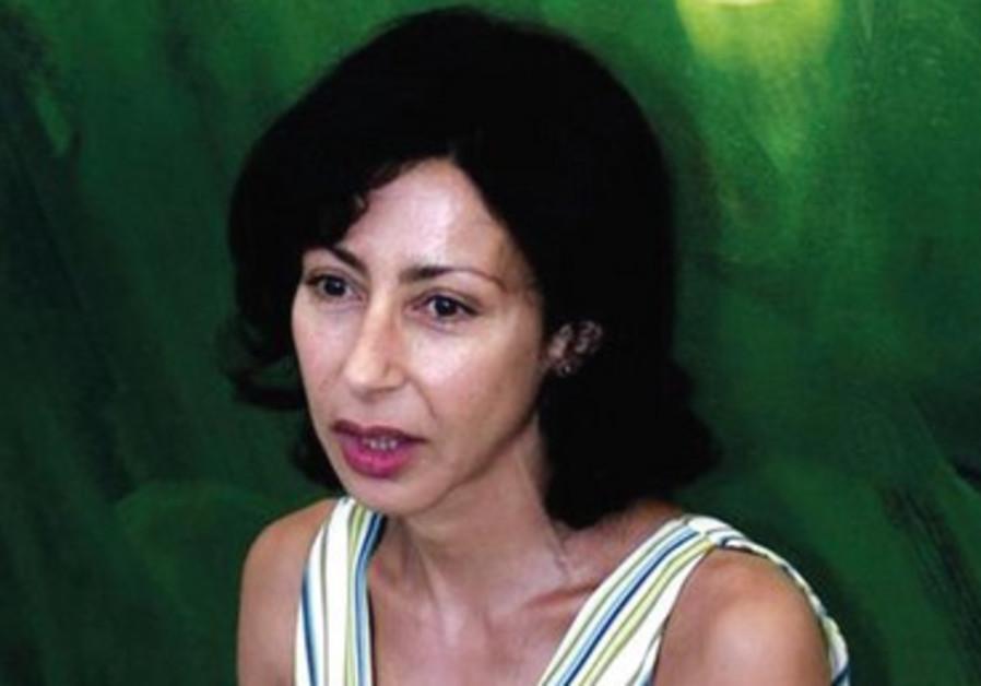 Yasmina Reza au Venice Lido.