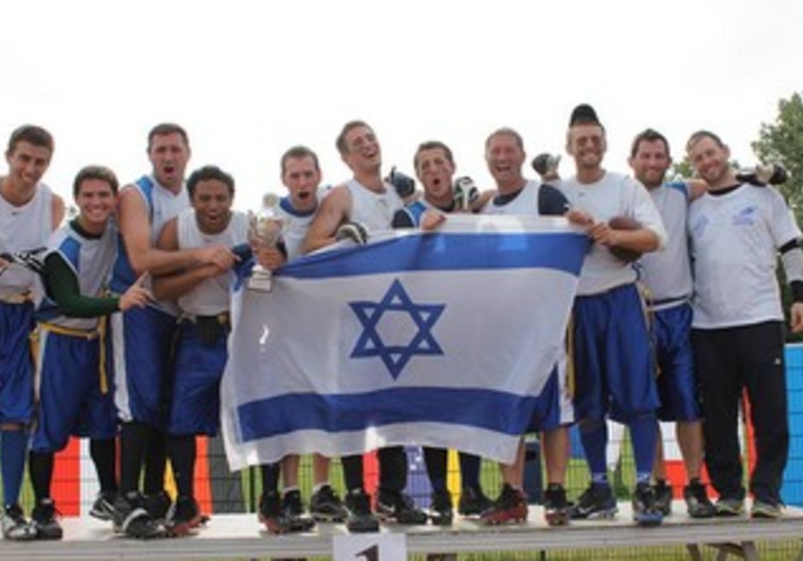Israeli national flag football