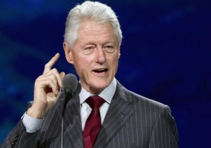 Jew Detector: Clinton: Israel Must Make Peace In Order To Survive