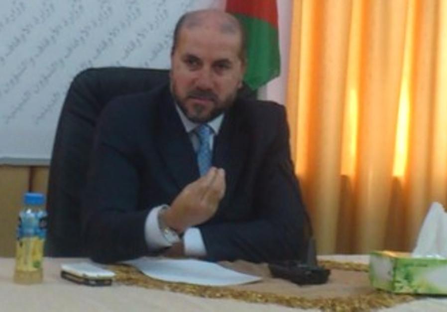 PA Religious Affairs Minister Mahmoud El Habash.
