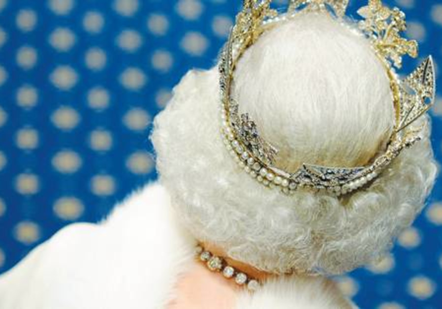 CROWNING GLORY. If silver hair is good enough for the British Queen, it's good enough for me