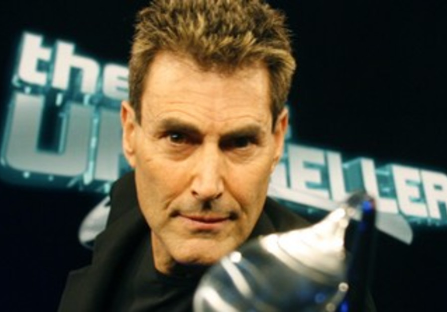 "Spoon-Bender and ""CIA agent"" Uri Geller"