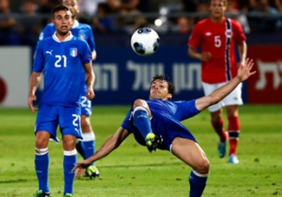 The counterattacking flare of Italy