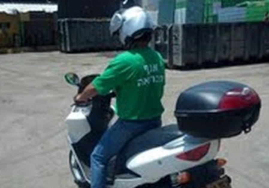 Electric scooters being tested by Tel Aviv-Jaffa