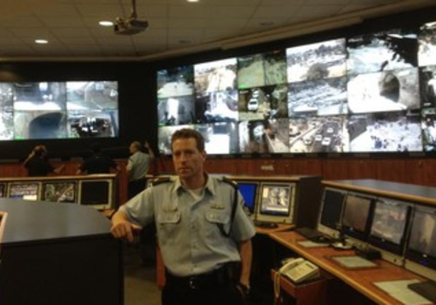Micky Rosenfeld poses in Old City's police headquarters near Jaffa Gate, June 18, 2013.