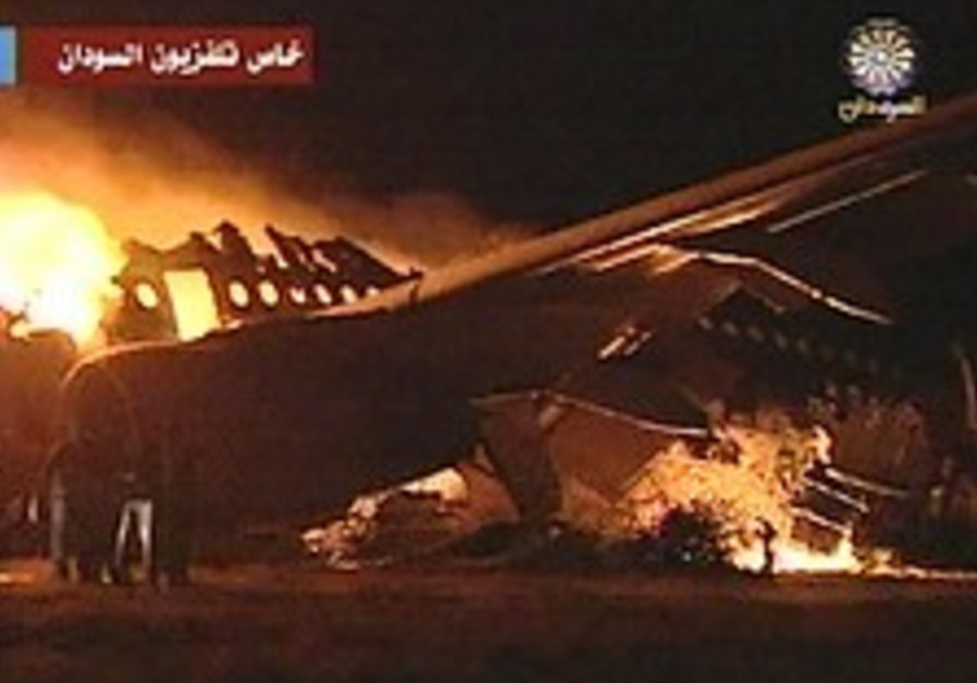 At least 30 dead in Sudan plane crash