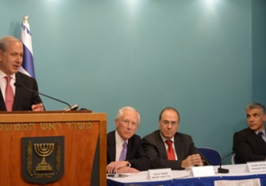 PM Netanyahu announces decsion on gas exports
