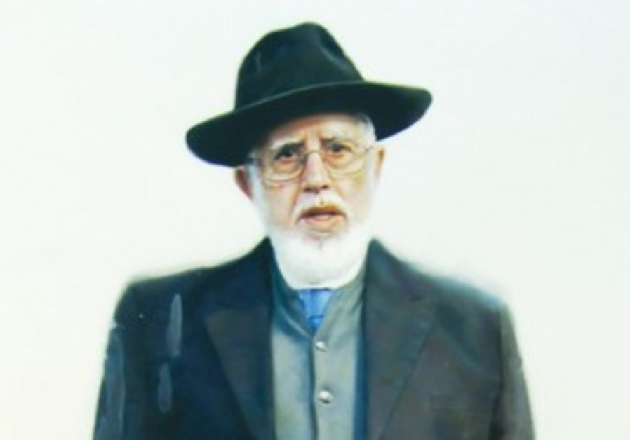 A PORTRAIT of Rabbi Moshe Bendahan.