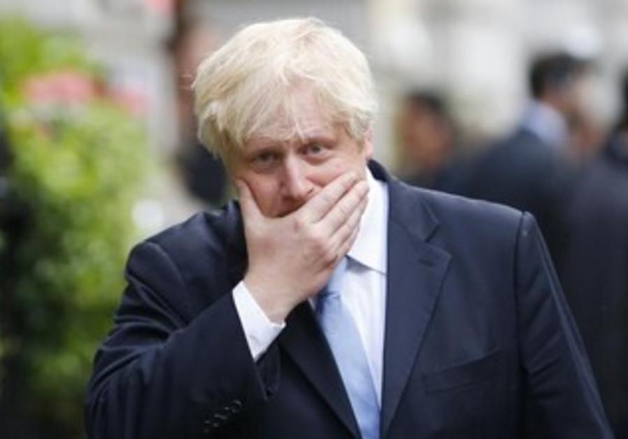 London Mayor Boris Johnson.