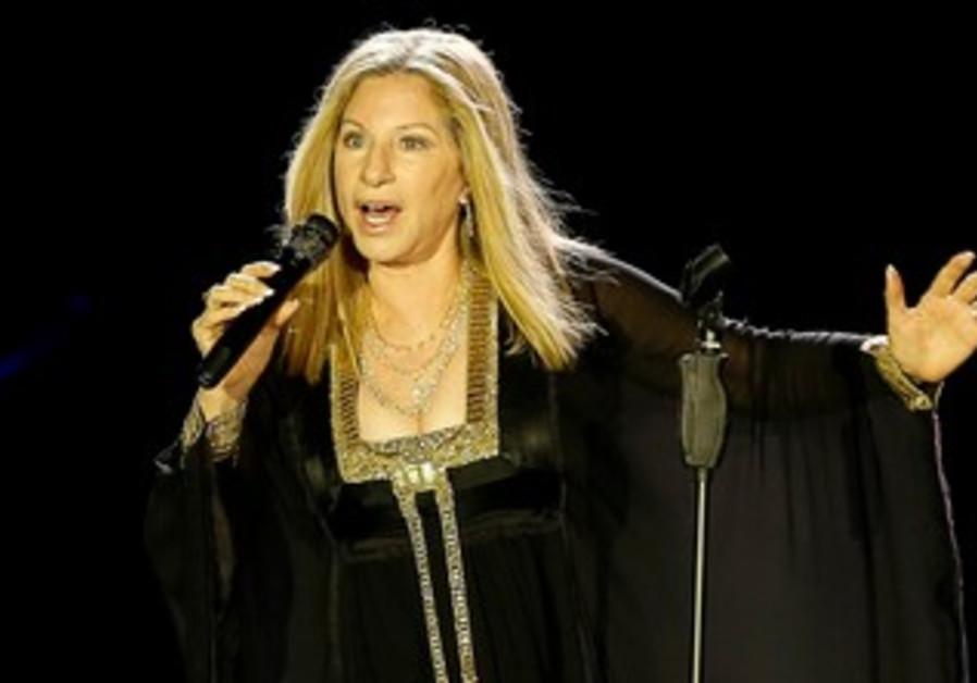 Barbra Streisand performs in Tel Aviv, June 21, 2013