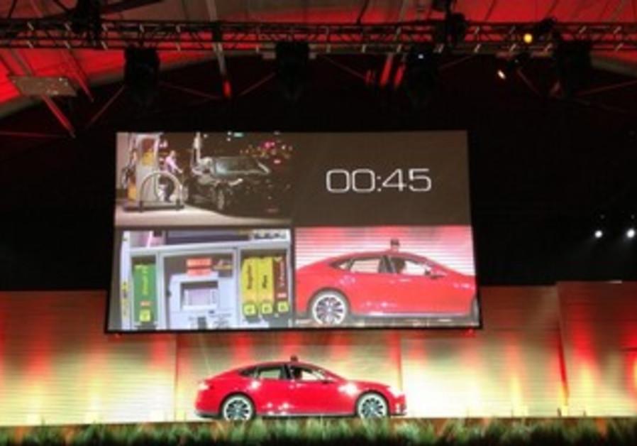 Tesla Motors vehicle