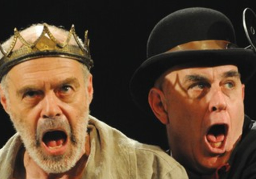 DORON TAVORI (left) and Noam Ben- Azar in 'Enter the King.'