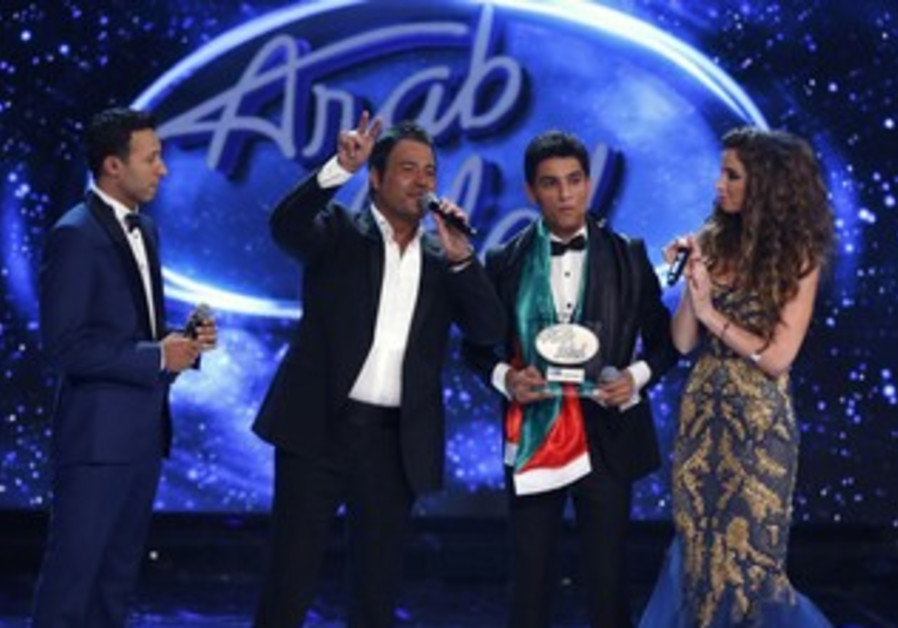Mohammed Assaf after Arab Idol win, June 22, 2013