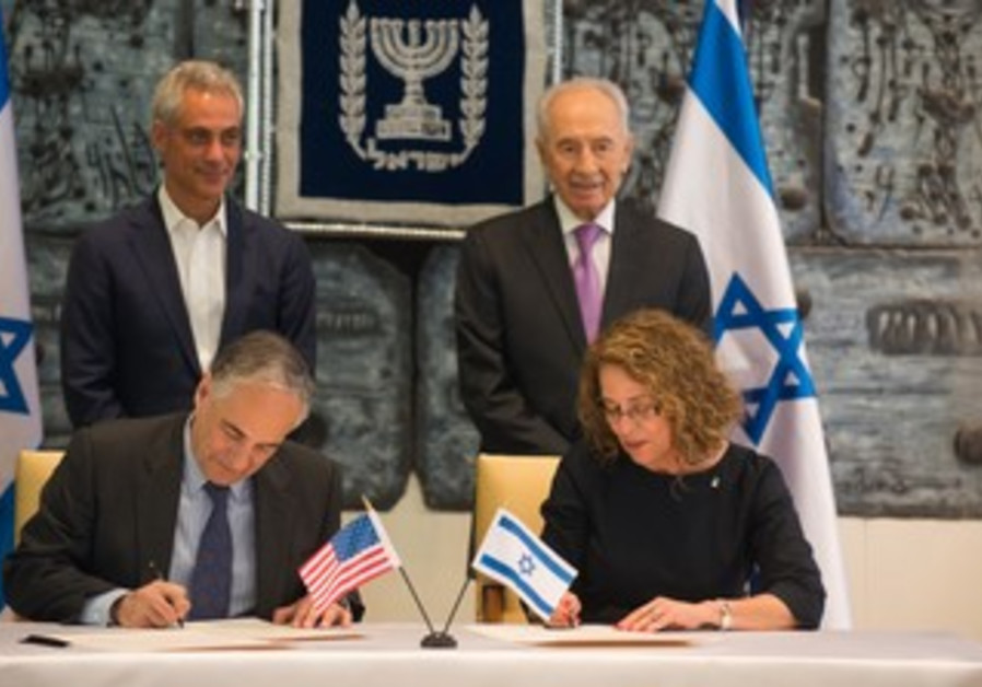 Presidents of Ben Gurion University and the University of Chicago launch a collaboration on water.