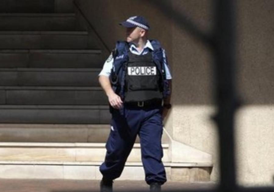 Australian police officer [file]