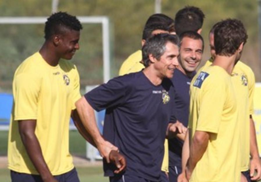 MACCABI TEL AVIV coach Paulo Sousa surely isn't pleased with Champion's league draw.