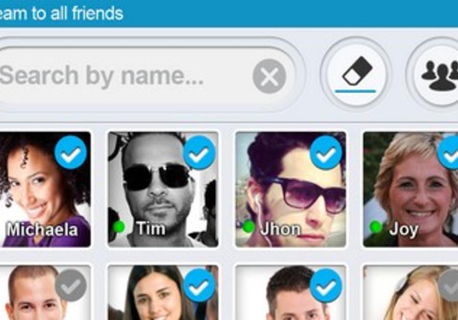 LiveLens video sharing application