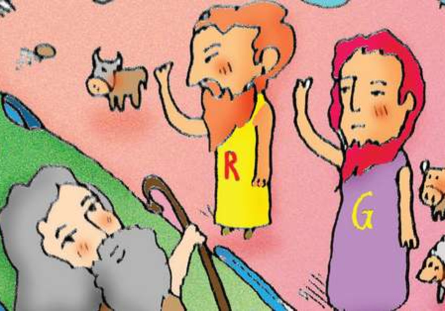 Moses, Gad, and Reuben