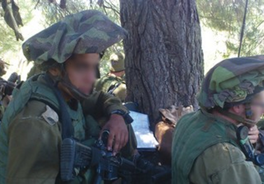 SOLDIERS FROM the Shahaf Battalion.