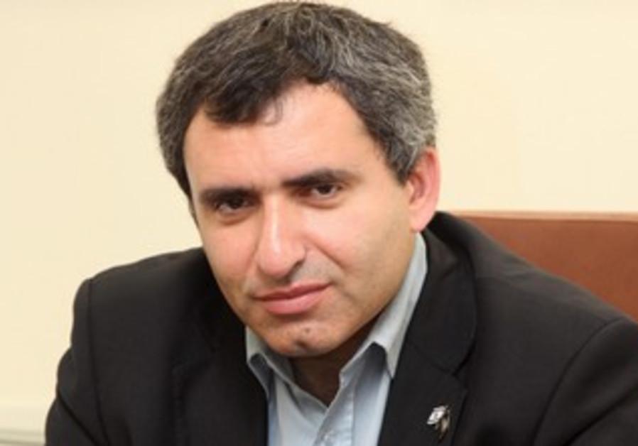 Deputy Foreign Minister Ze'ev Elkin.