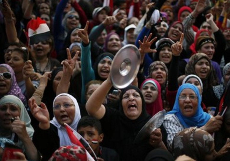 Protesting in Egypt