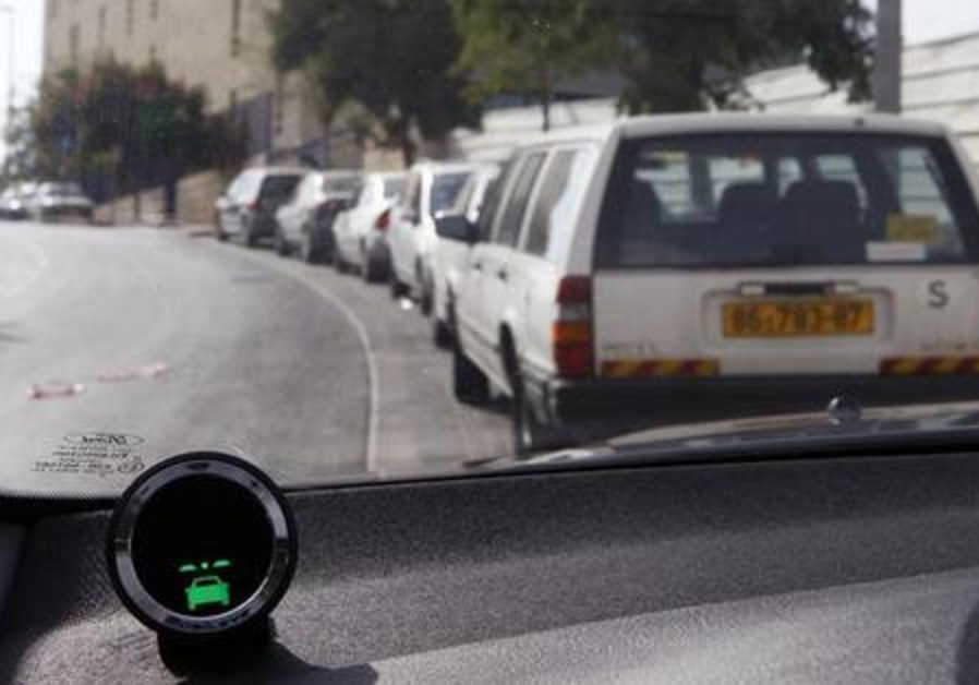 Part of the Mobileye driving assist system