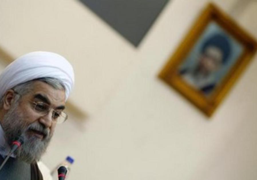 Iran's new president Hassan Rouhani