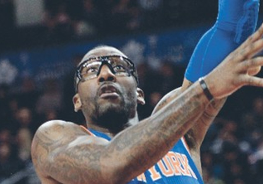 NEW YORK KNICKS power-forward Amare Stoudmire.