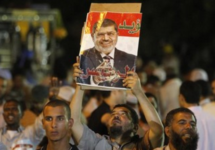 A member of the Muslim Brotherhood and supporter of Mohamed Morsi.