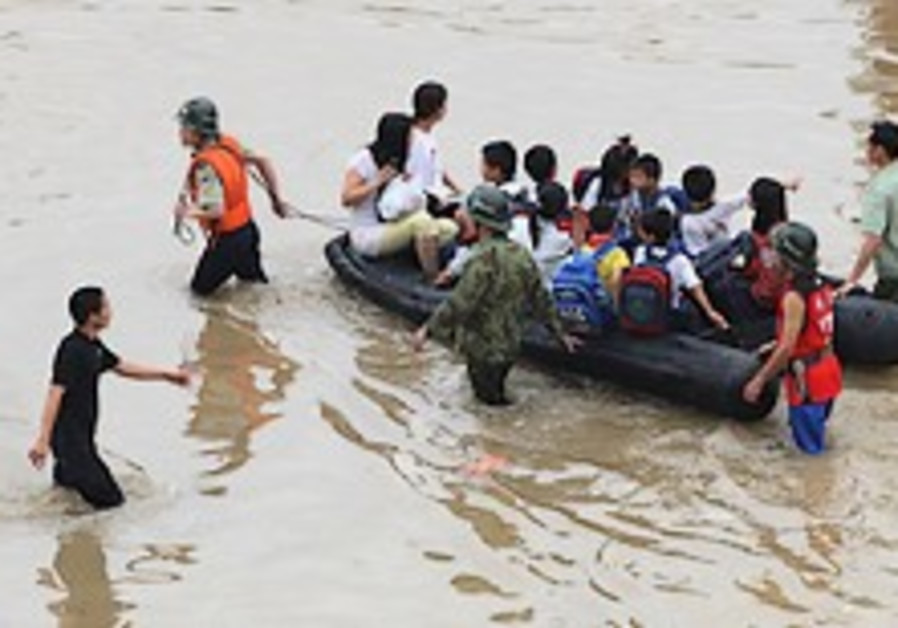 57 killed in southern China flooding