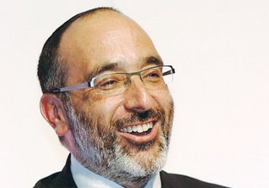 CHIEF RABBI Warren Goldstein addresses the Sinai Indaba III in Johannesburg.