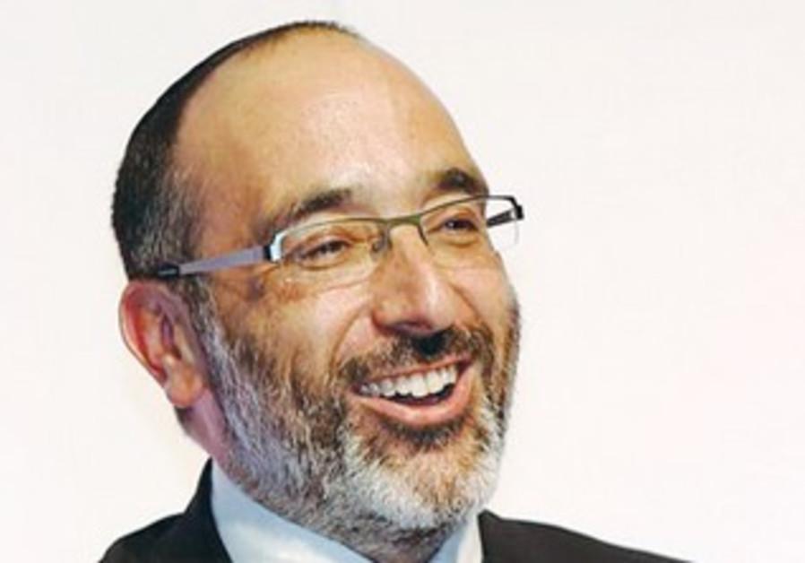CHIEF RABBI Warren Goldstein addresses the Sinai Indaba III in Johannesburg.