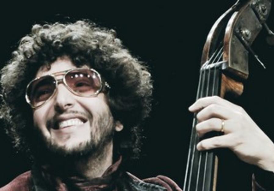 Jazz bass player Omer Avital.