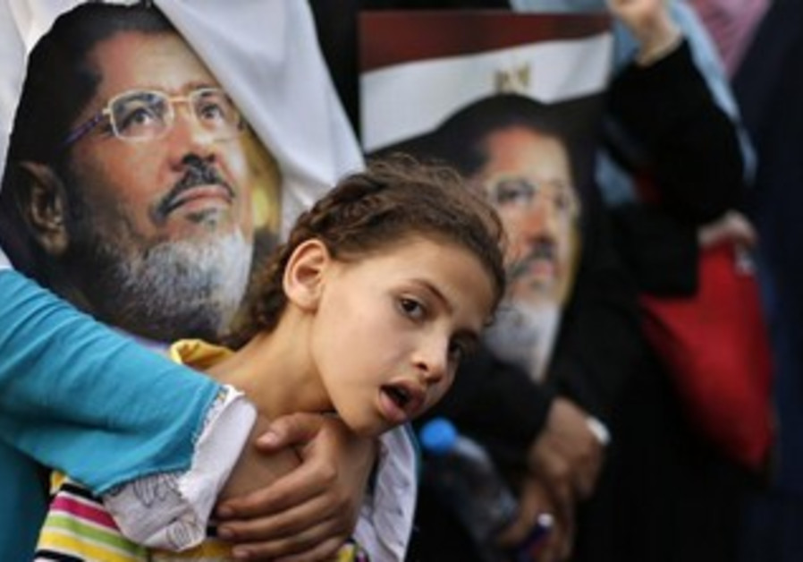 Supporters of Mohamed Morsi in Cairo