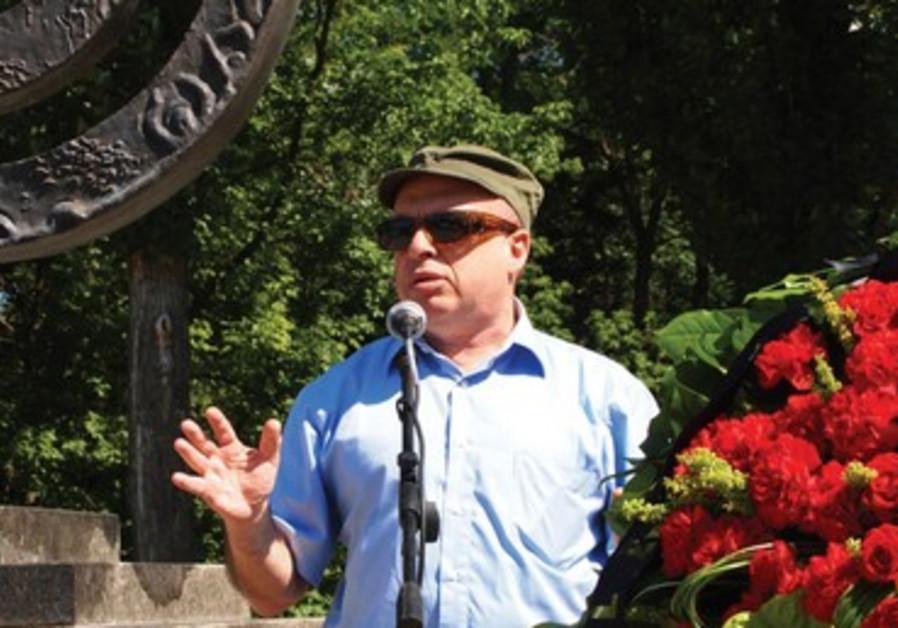 Discours de Nathan Sharansky lors d'une cérémonie commémorative des victimes du massacre de Babi Yar