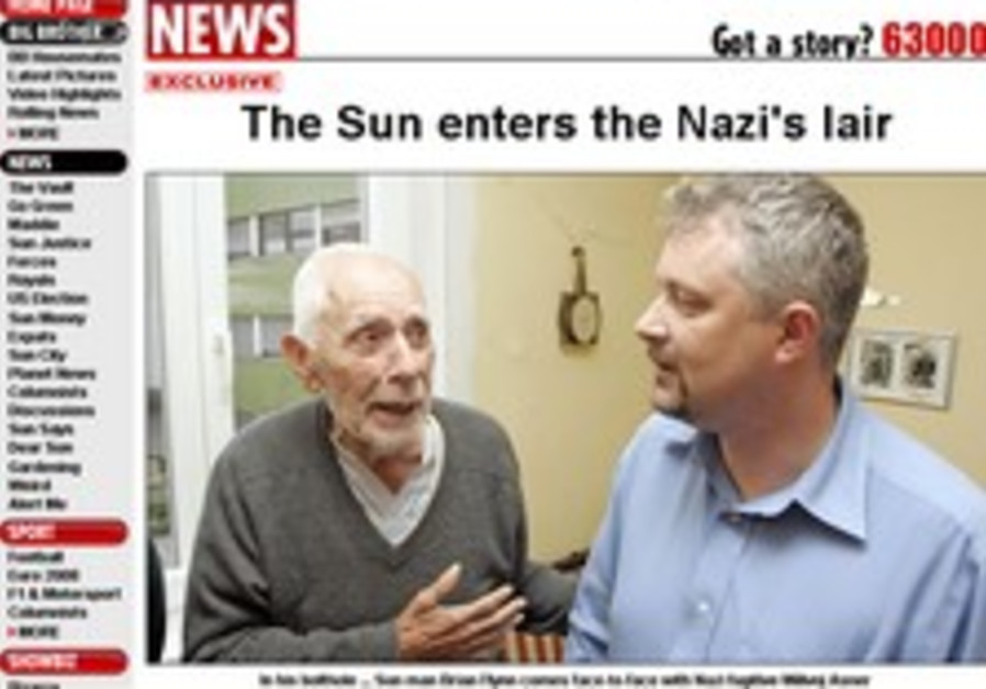 Wanted Nazi is 'ready to face court'