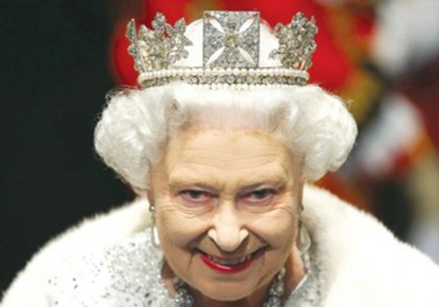 La reine Elizabeth n'a jamais posé les pieds en Israël.