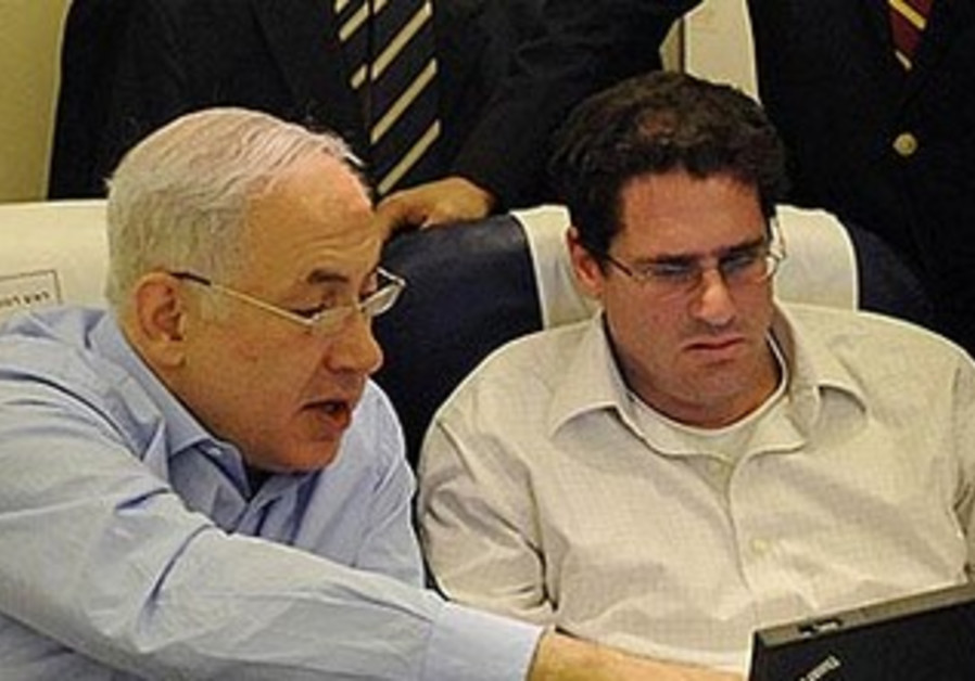 Prime Minister Binyamin Netanyahu with Ron Dermer, Israel's next Ambassador to the US.