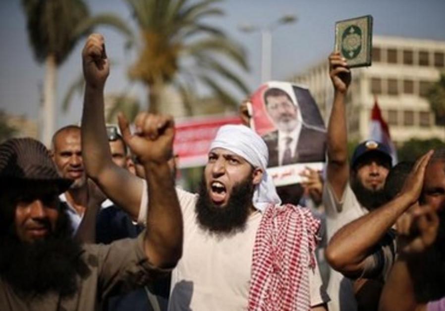 Egypt rallies July 6, 2013.