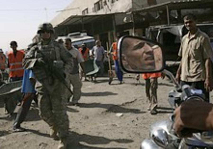 51 killed as car bomb strikes Baghdad market