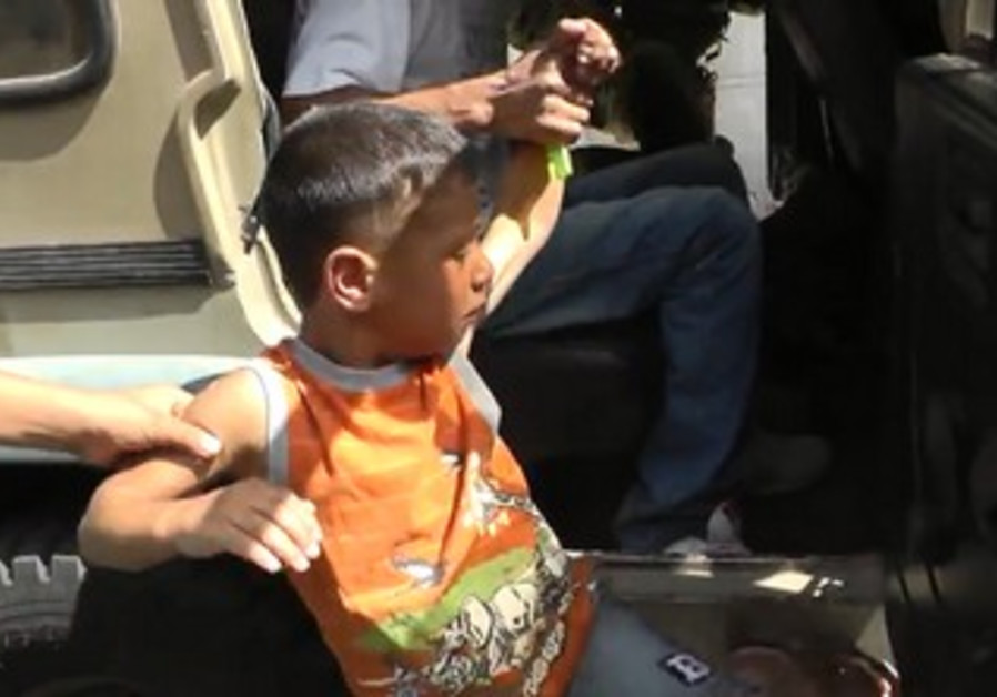 Five-year-old Palestinian boy detained by IDF