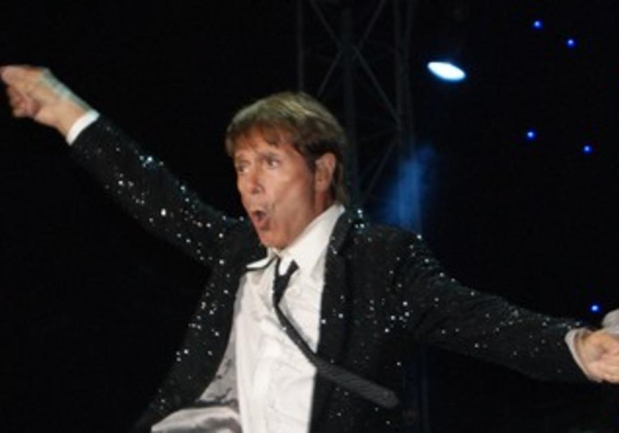 Sir Cliff Richard, performing in Tel Aviv, July 11, 2013