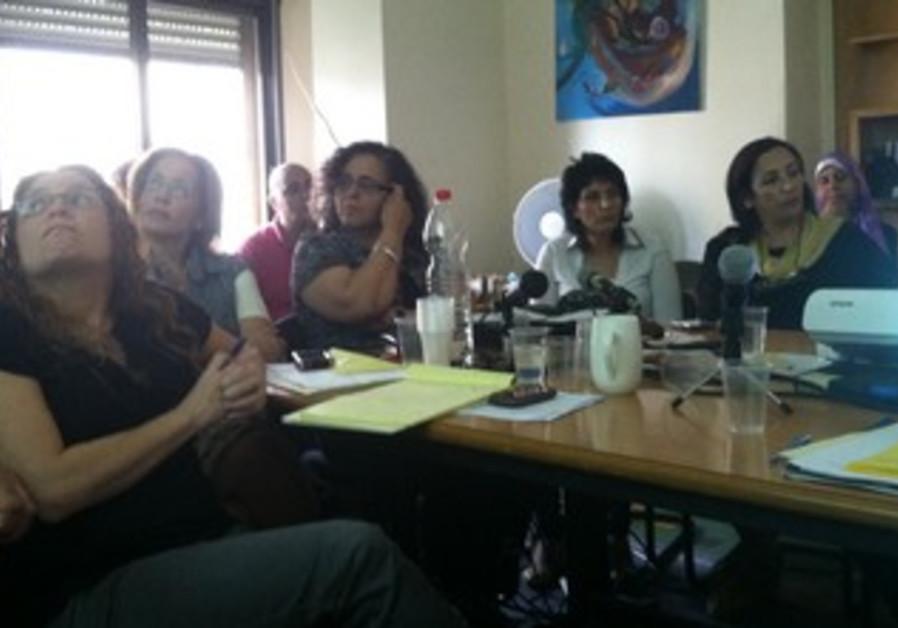 Women's rights advocates meet in Nazareth