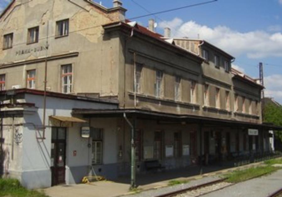 Bubny train station in Prague.