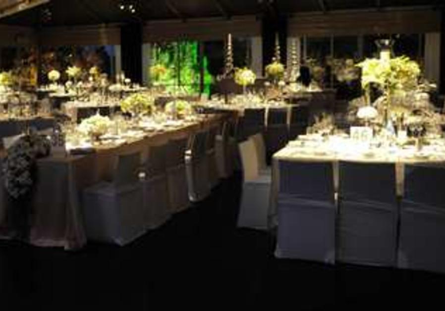 Big wedding celebration