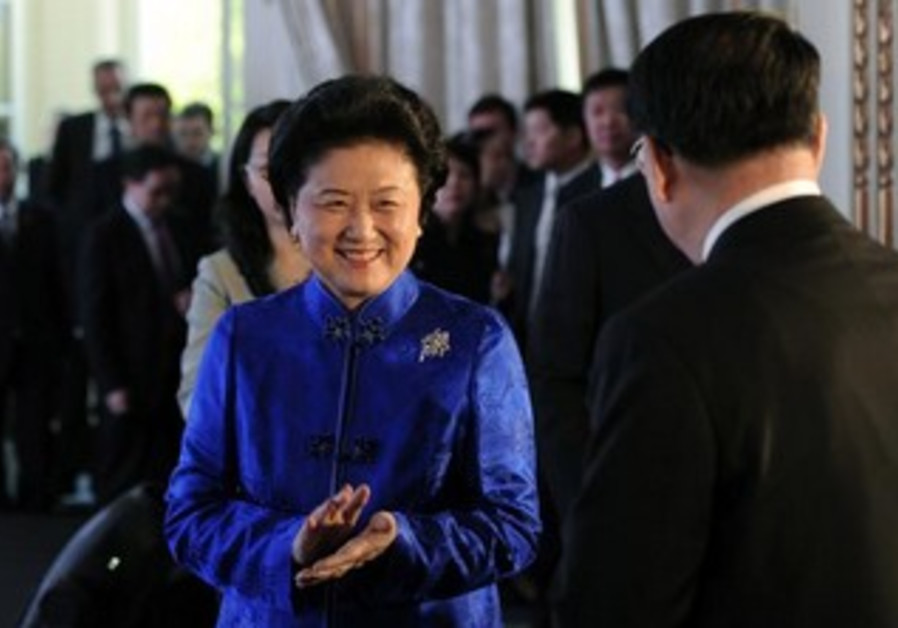 Member of China's Politburo Liu Yandong