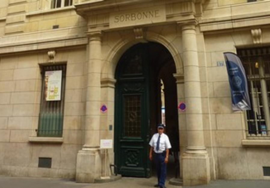 THE SORBONNE in Paris