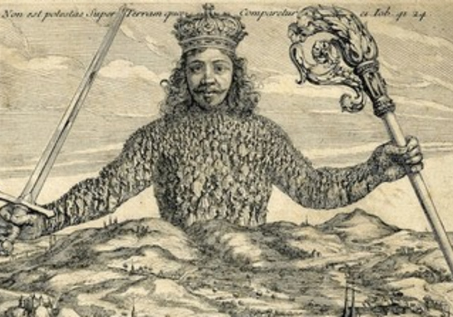 Frontispiece of Leviathan by Thomas Hobbes Abraham Bosse, 1651.